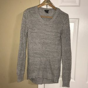 Rue21 Gray Knitted Sweater